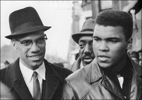 Malcom X'le... 1963, New York