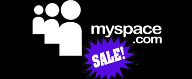 Myspace sonunda satışa çıkarıldı