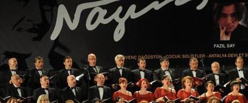Nazım Oratoryosu Antalya'daydı