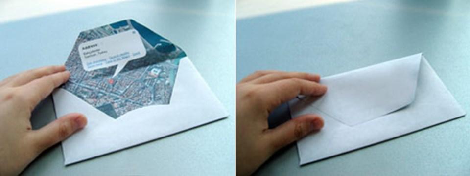 Tasarımcı Beste Miray'ın özel zarf tasarımları