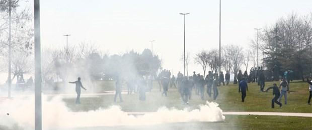 Nevruz'a biber gazlı müdahale