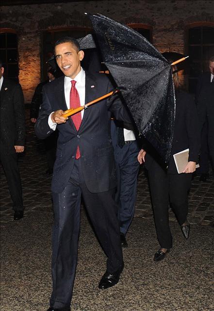 Obama resepsiyonda