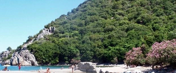 Olimpos'ta sahil yasağı tabiatı korumak için