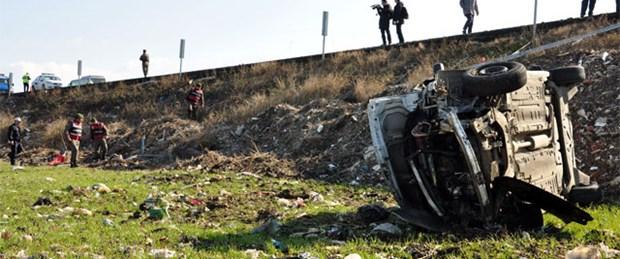Operasyon yolunda kaza: 1 polis şehit