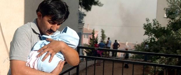 Orman yandı, evler kurtuldu, risk sürüyor