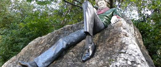 Oscar Wilde Dublin'de her yerinde