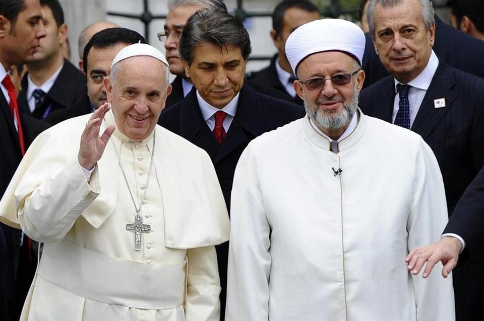 Papa Francis İstanbul'da