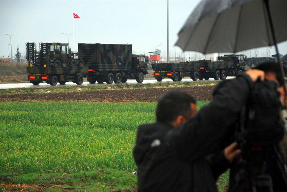 Patriotlar Gazi Kışlası'nda