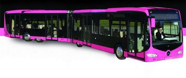 Pembe metrobüs için 60 bin imza