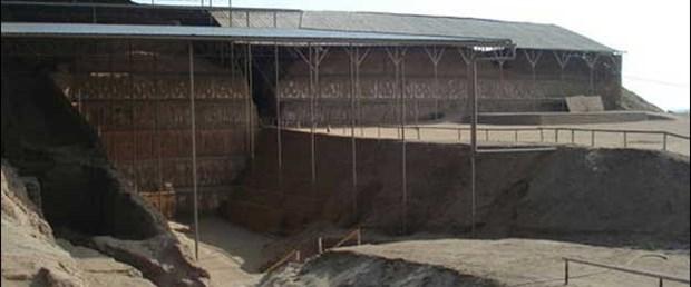 Peru'da antik bir kentin kalıntıları bulundu