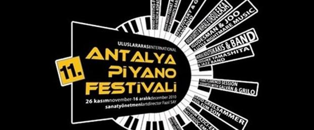 Piyano sesleri Antalya'da