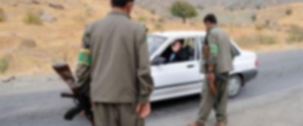 PKK yol kesti: 1'i asker 3 kişiyi kaçırdı