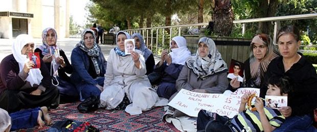 'PKK'nın kaçırdığı çocuklar eylemi'ne ara