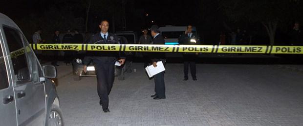 Polis aracına ses bombası