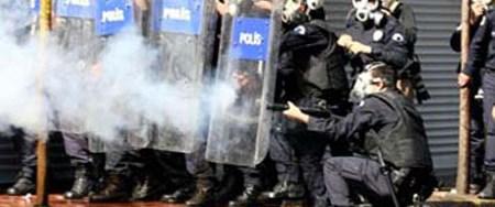 Polise göre gaz devlet sırrı