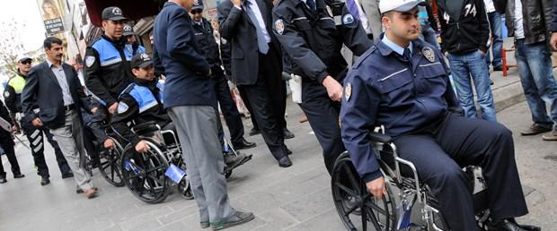 Polisin engelliyle empati günü