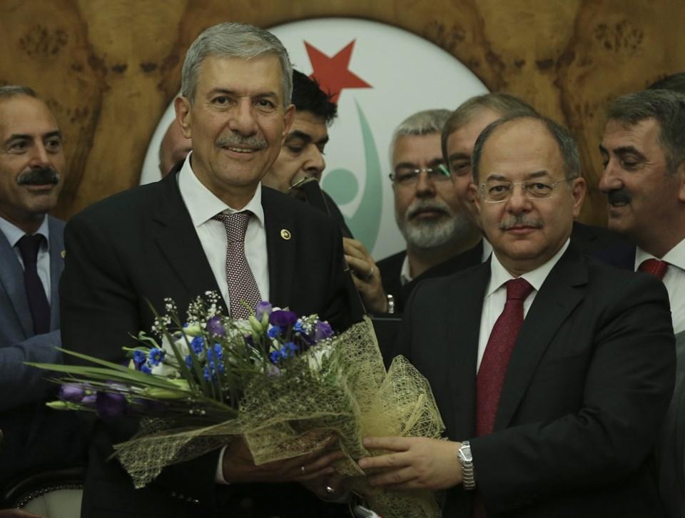 Ahmet Demircan ve Recep Akdağ (soldan sağa)