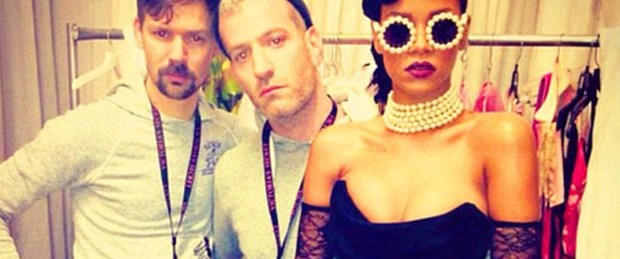 'Rihanna'nın stili ilham veriyor'