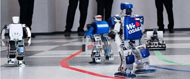 Robotlar maratonda kozlarını paylaşıyor