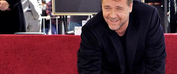 Russell Crowe da Şöhretler Kaldırımı'nda