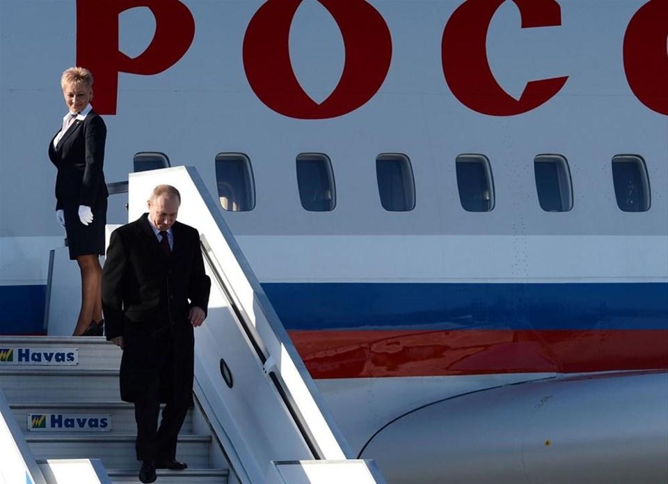Rusya lideri Putin, İstanbul'da