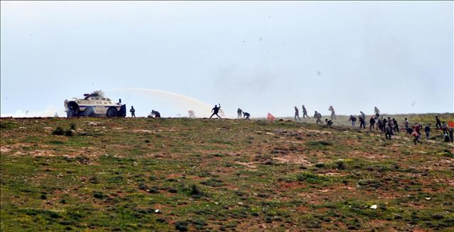 Ş.Urfa'da olaylı gösteri