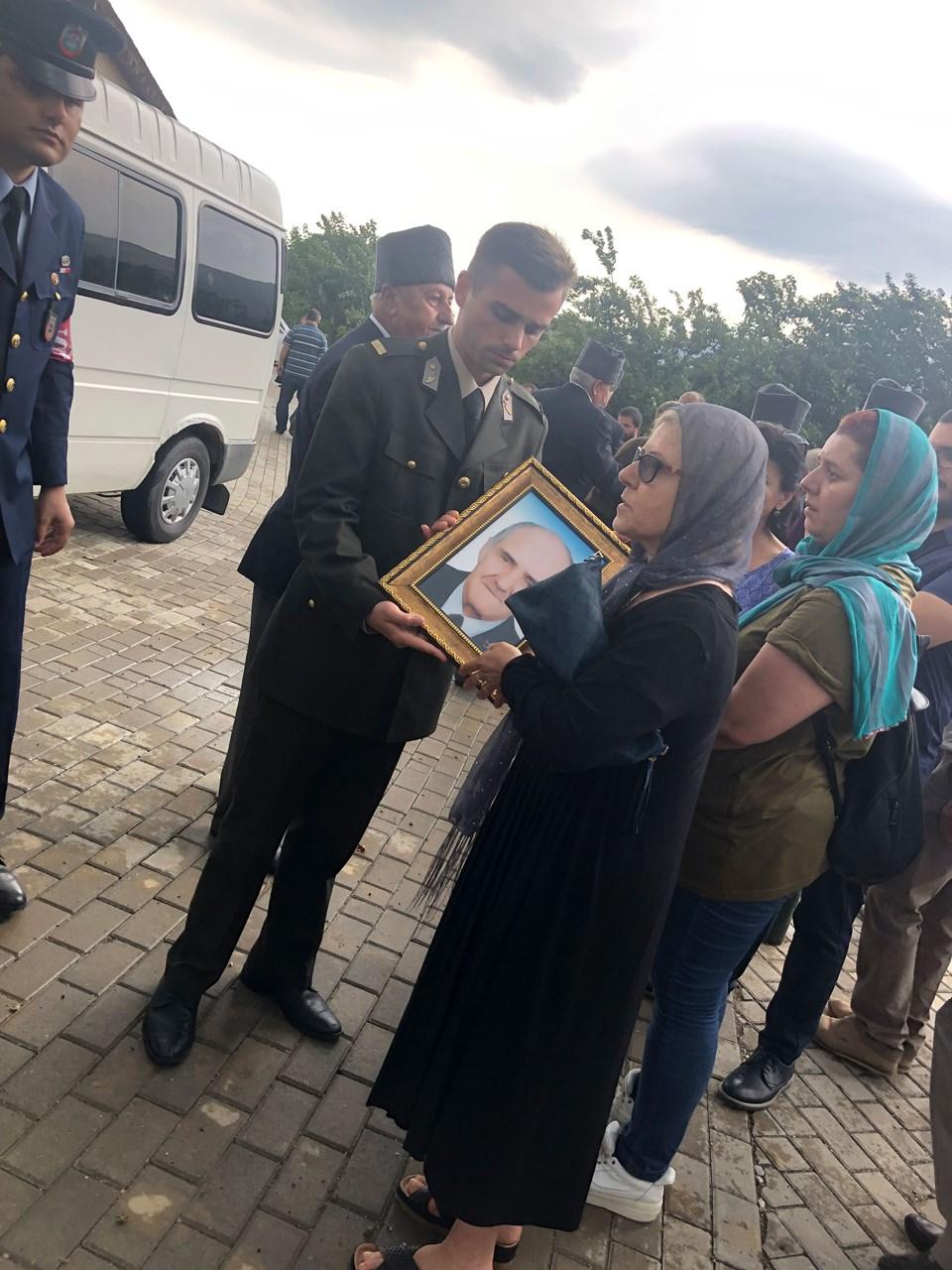 Kore gazisi Mustafa Sarı son yolculuğuna uğurlandı.
