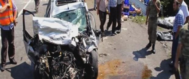 Samsun'da trafik kazası: 5 ölü