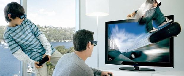 Samsung'dan 3 boyutlu plazma tv