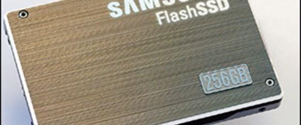 Samsung'un 256GB'lık SSD'leri seri üretimde