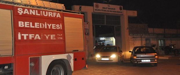 Şanlıurfa Cezaevi'nde yangın