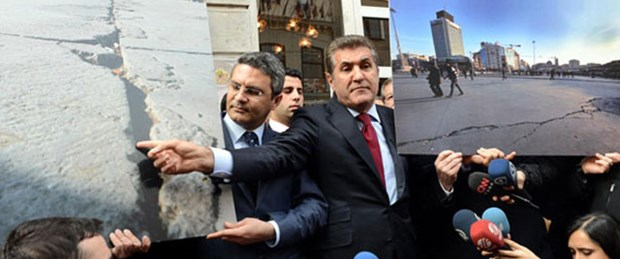 Sarıgül'e Taksim yasağı
