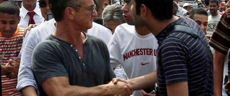 Sean Penn Libyalılara hayran