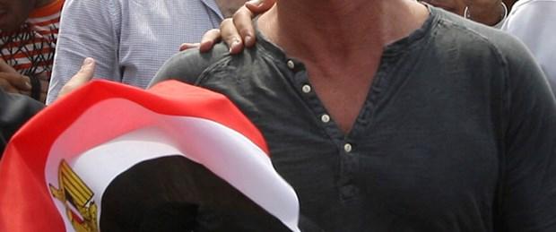 Sean Penn Tahrir Meydanı'nda