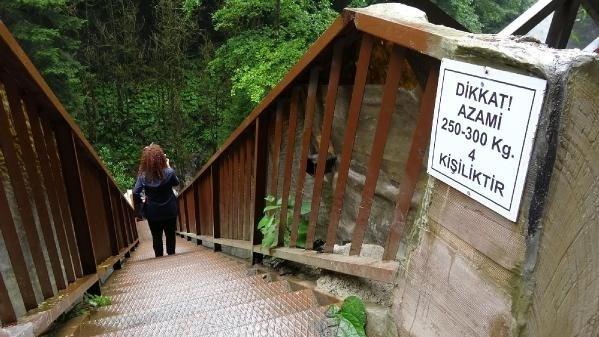 Doğa Koruma ve Milli Parklar Rize 12'inci Bölge Müdürü Mustafa Bulut, doğayla uyumlu olarak inşa edilen merdiven sayesinde dere yatağına kadar inen turistlerin şelaleyi daha iyi bir açıdan izleme imkanına kavuştuğunu söyledi.