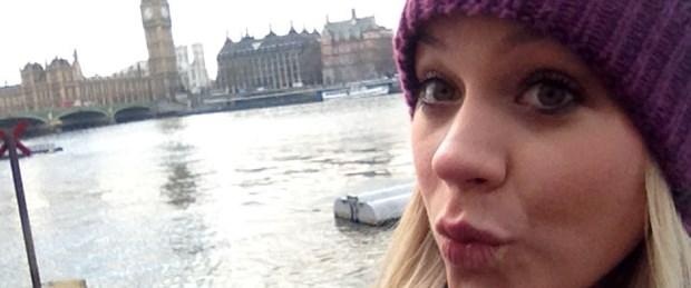 'Selfie'nin başkenti Londra
