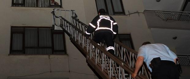 Sevgilisinin eve kapattığı Rus kadın kurtarıldı