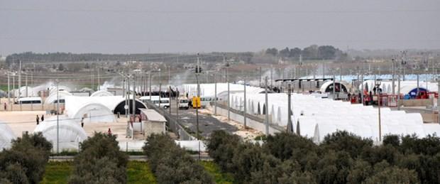 Sığınmacı kampında gerginlik