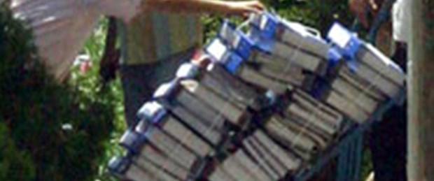 Silah görüntüleri dava dosyasında