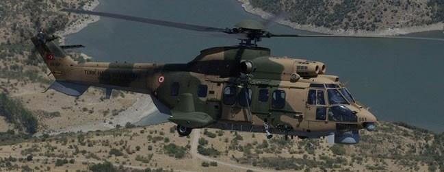 Cougar tipi askeri helikopter /Arşiv Fotoğrafı