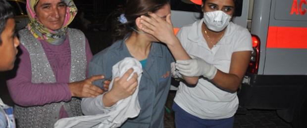Sızan amonyak 50 işçiyi zehirledi