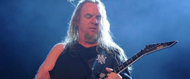 Slayer'ın gitaristi Hanneman hayatını kaybetti