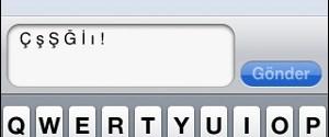 SMS'te Türkçe karakter standardı gecikecek