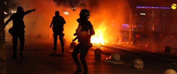 Soma protestolarına polis müdahalesi