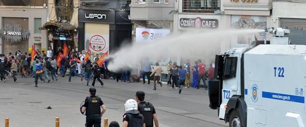 Soma protestosuna müdahale