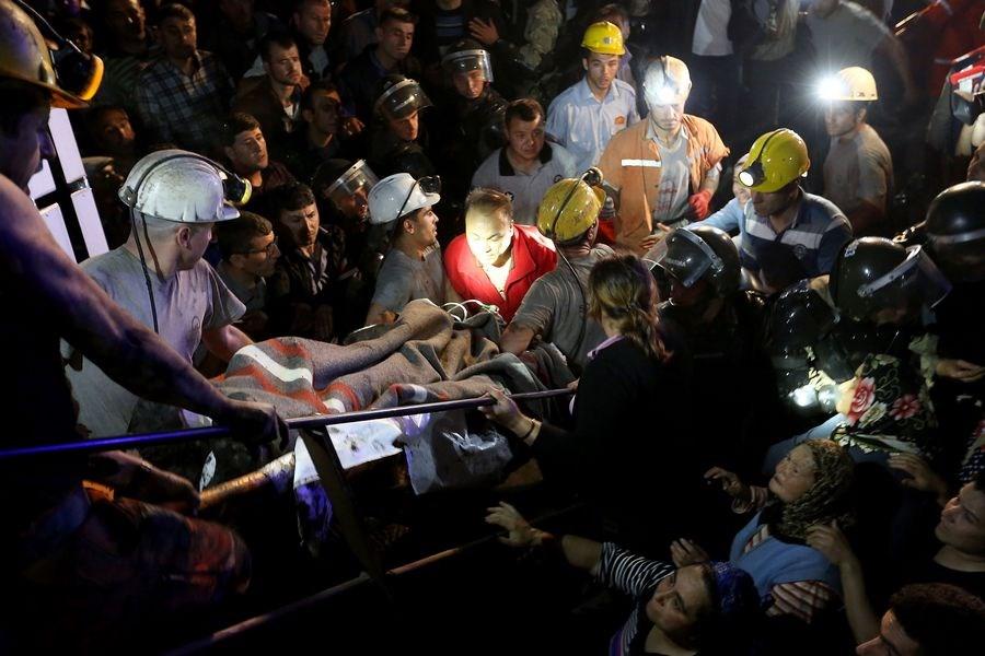Soma'da 'maden' yangını