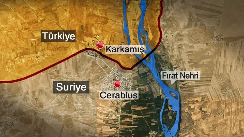 NTV yayınına katılan Başbakan Yardımcısı Numan Kurtulmuş, Cerablus'un ya da başka bir kentin IŞİD'in elinde olmasının kabul edilebilir bir durum olmadığını söylemişti.