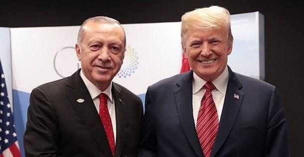 SON DAKİKA: Cumhurbaşkanı Erdoğan, ABD Başkanı Trump ile görüştü