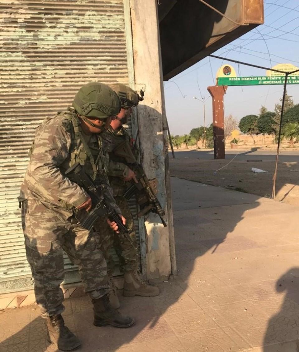Türk komandoları Resulayn'da