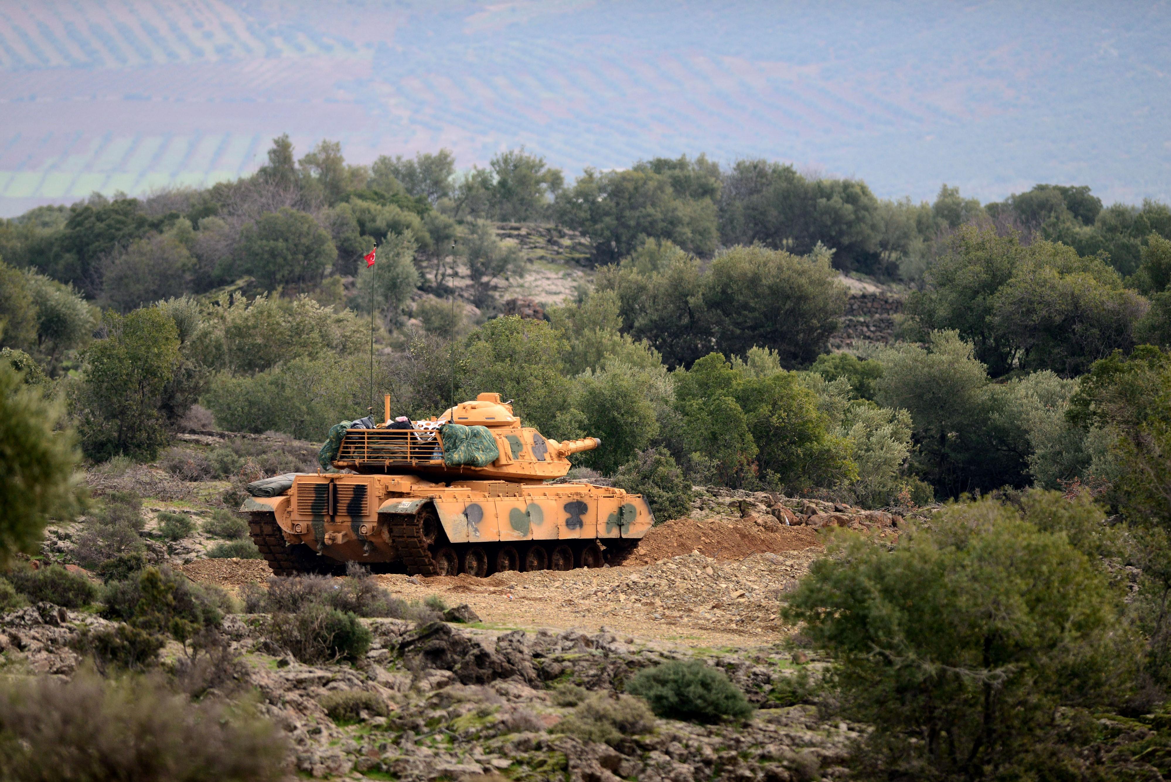 Son dakika haberi... TSK'dan Afrin için yeni cephe (Zeytin Dalı Harekatı)